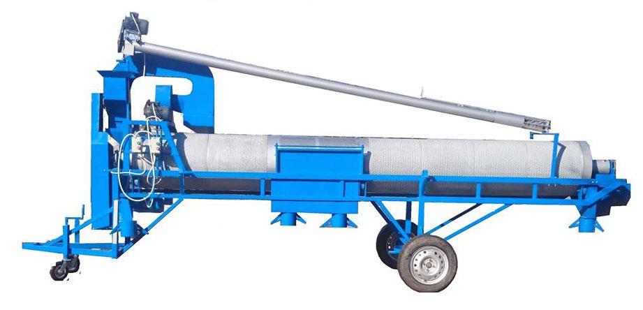 Машини за обеззаразяване на семена и семечистене